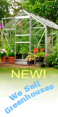 NEW at Wind Chime Nursery - Arched & Peaked Greenhouses